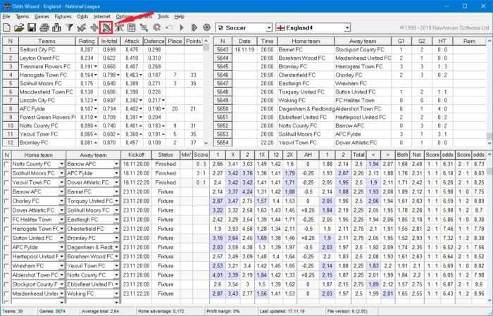 скриншот oddswiz 2.75