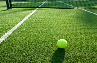 теннисный корт трава